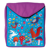 Hoppy Bunny Little Square Backpack