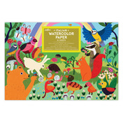 Woodland Rainbow Watercolor Pad