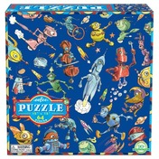 Lots of Robots 64 Piece Puzzle
