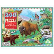 Wildlife of North America 208pc Puzzle