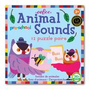 Preschool Animal Sounds Puzzle Pairs