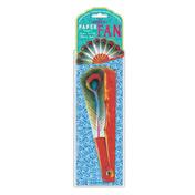 Peacock Paper Fan