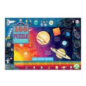 Solar System 100 Piece Puzzle