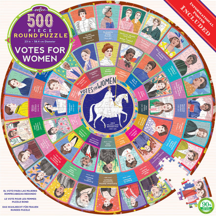 Votes for Women 500 Piece Puzzle picture