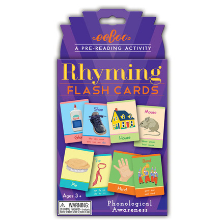 Flash Cards Rhyming picture