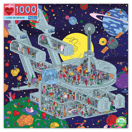 Life in Space 1000 Piece Puzzle picture