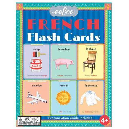 French Flash Cards picture