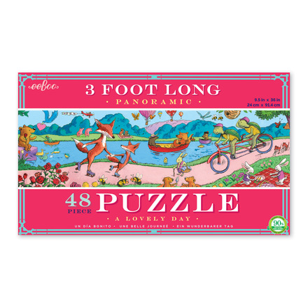 Lovely Day 48 Piece Panoramic Puzzle picture