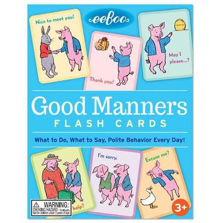 Good Manners Flash Cards picture