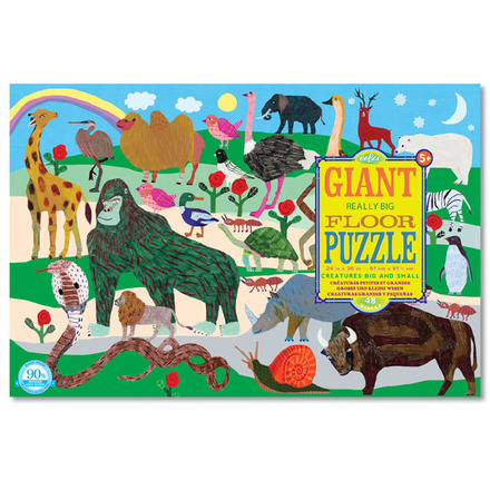 Creatures Big and Small Giant Puzzle picture