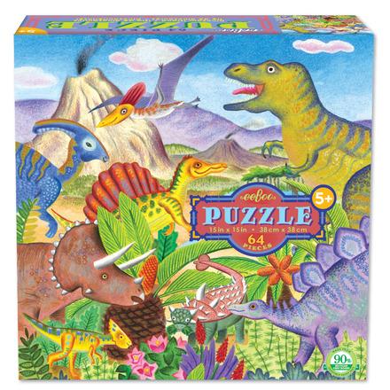 Dinosaur Island 64 Piece Puzzle picture