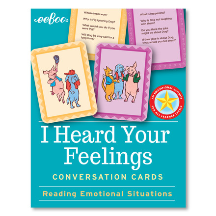 I Heard Your Feelings Flash Cards picture