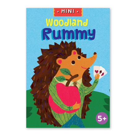 Woodland Rummy Mini Playing Cards picture