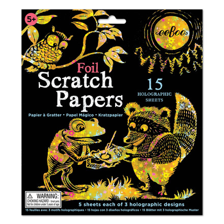 Foil Scratch Papers picture
