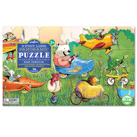 Busy Vehicles 36 Piece Puzzle picture