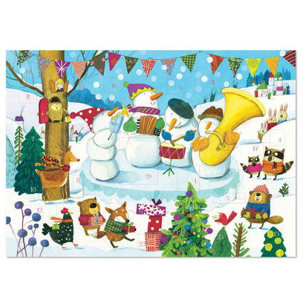 Snowman's Band Advent Calendar picture