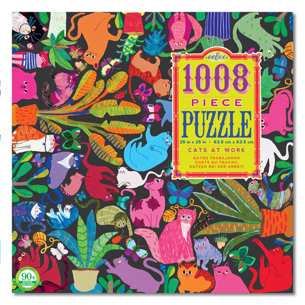 Cats at Work 1000pc Puzzle picture