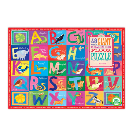 Alphabet Giant Really Big Floor Puzzle picture