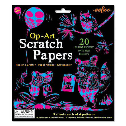 Op-Art Scratch Papers picture