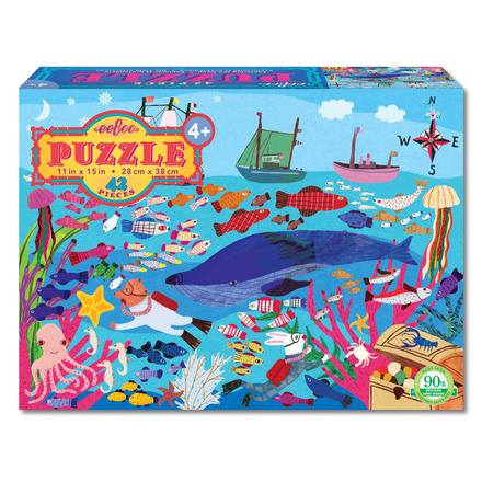 Exploring the Deep 42 Piece Puzzle picture