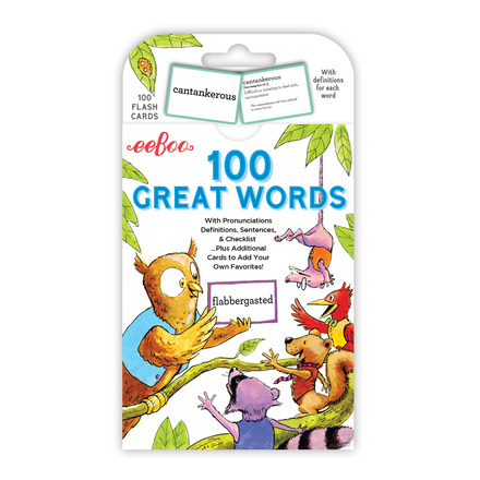 Great Words Flash Cards picture