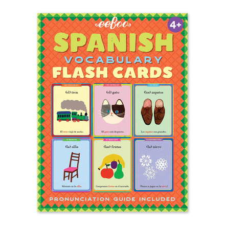 Spanish Flashcards picture