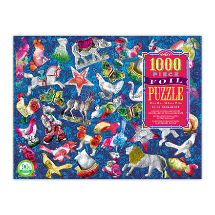 Shiny Ornaments 1000 Piece Puzzle picture