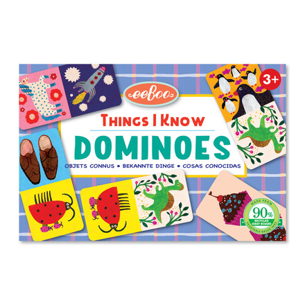 Things I Know Little Dominoes picture