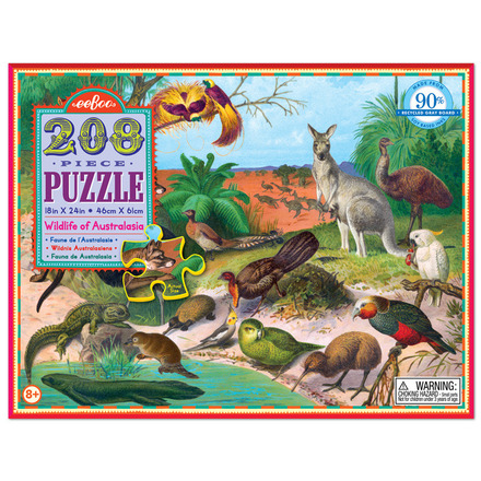 Wildlife of Australasia 208pc Puzzle picture