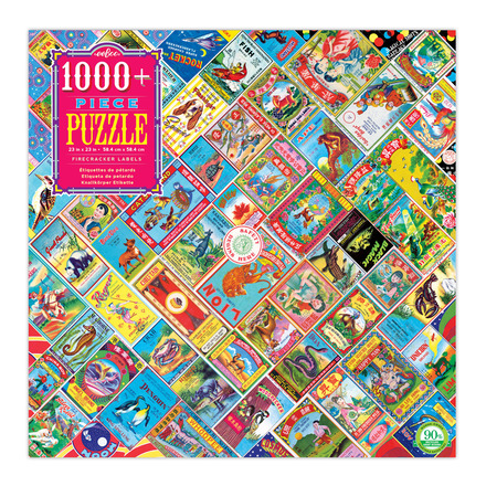 Firecracker Label 1000+ Piece Puzzle