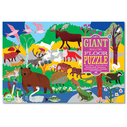 Woodland Animals Giant Puzzle picture