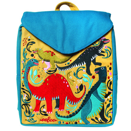 Dinosaur Party Little Square Backpack picture