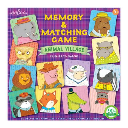 Animal Village Memory & Matching Game picture