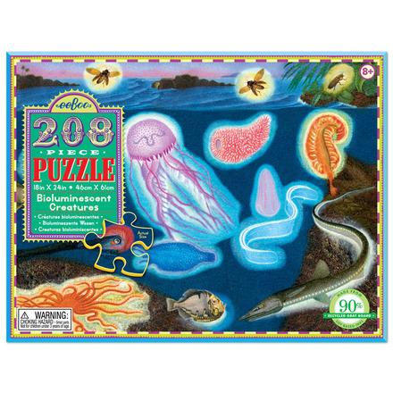 Bioluminescent Creatures 208pc Puzzle picture