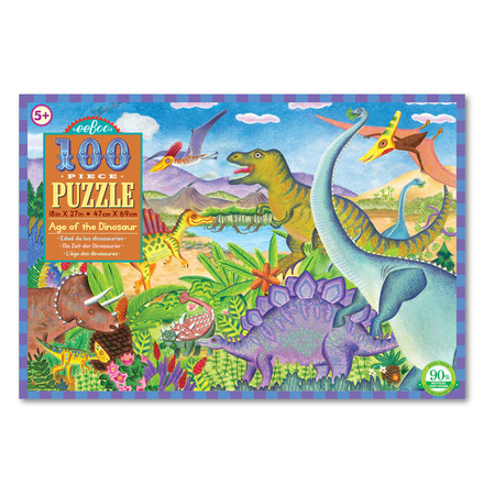 Age of the Dinosaur 100pc Puzzle picture