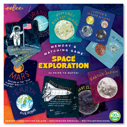 Space Exploration Memory Game picture