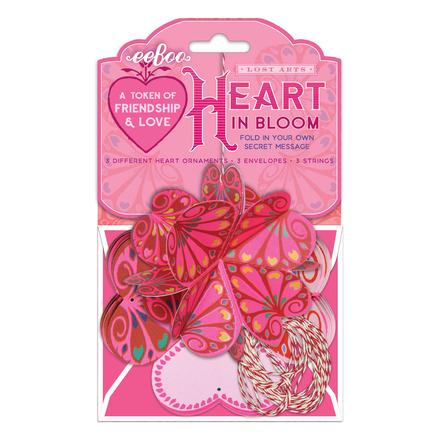 Heart in Bloom Love Token picture