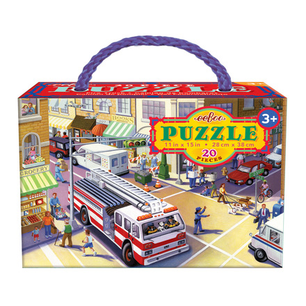 Fire Truck 20 Piece Puzzle picture