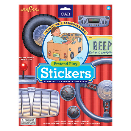 Car Pretend Play Stickers picture
