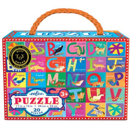 Animal Alphabet 20pc Puzzle picture