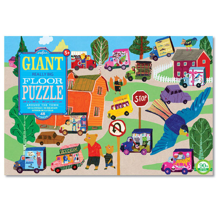 Around the Town Giant Puzzle picture