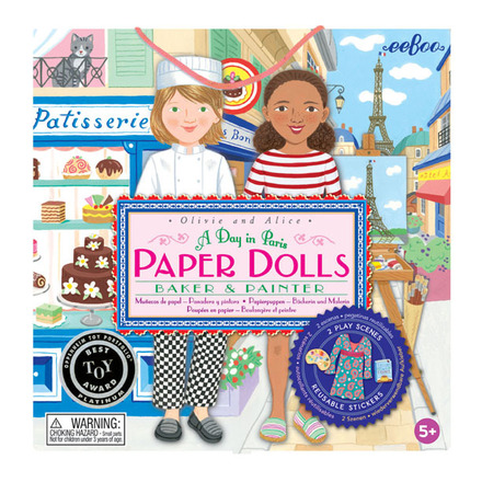 Paper Dolls A Day in Paris picture