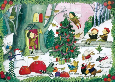 Christmas In The Woods Advent Calendar picture
