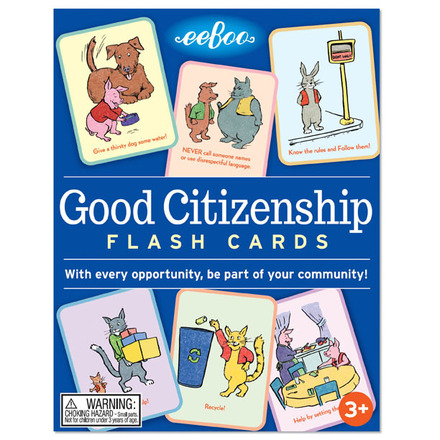 Good Citizenship Flash Cards picture