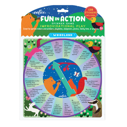 Woodland Fun in Action Spinner Game