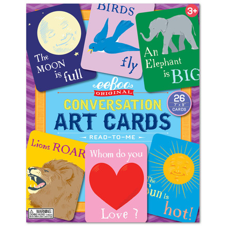 Read to Me Conversation Art Cards picture
