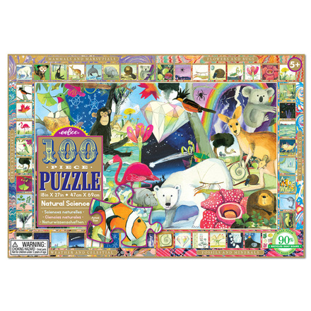 Natural Science 100 Piece Puzzle picture