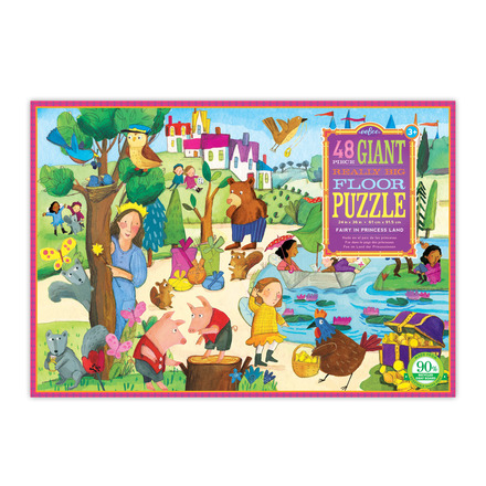 Fairy in Princess Land Giant Really Big Floor Puzzle picture