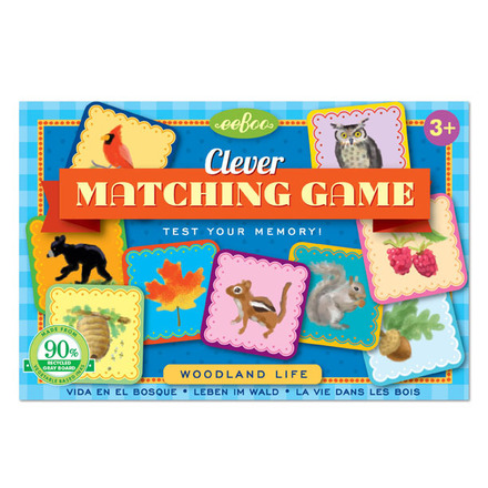 Woodland Life Clever Matching Game picture