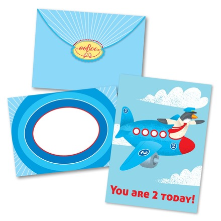 Plane 2 Birthday Card picture